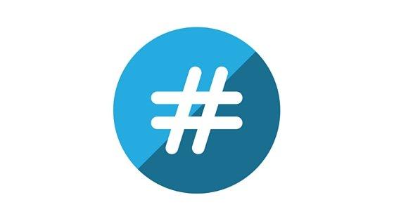 Using hashtags for social media