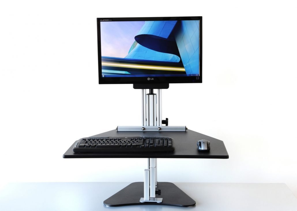 Kangaroo adjustable standing desk
